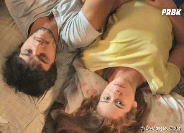 """Em """"Totalmente Demais"""": Eliza (Marina Ruy Barbosa) e Jonatas (Felipe Simas) vão transar pela primeira vez!"""