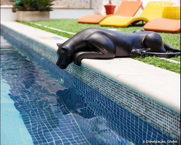 """Os brothers verão um felino na piscina do """"BBB14"""""""