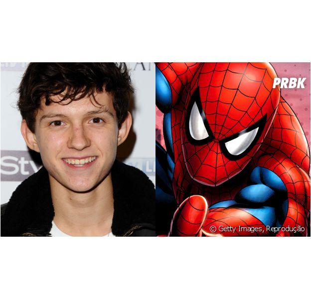 Tom Holland tem tudo para ser o melhor Homem-Aranha de todos os tempos