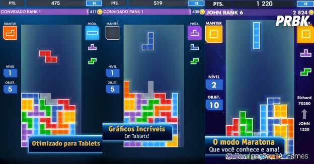 "Jogos viciantes e idiotas: ""Tetris"""