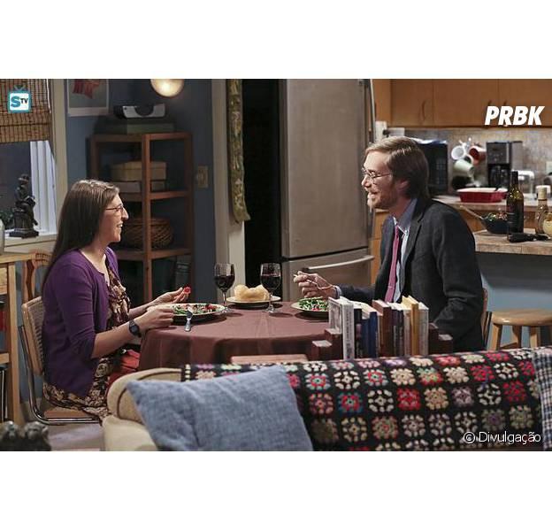 """Em """"The Big Bang Theory"""", Amy (Mayim Bialik) tem novo encontro com Dave!"""