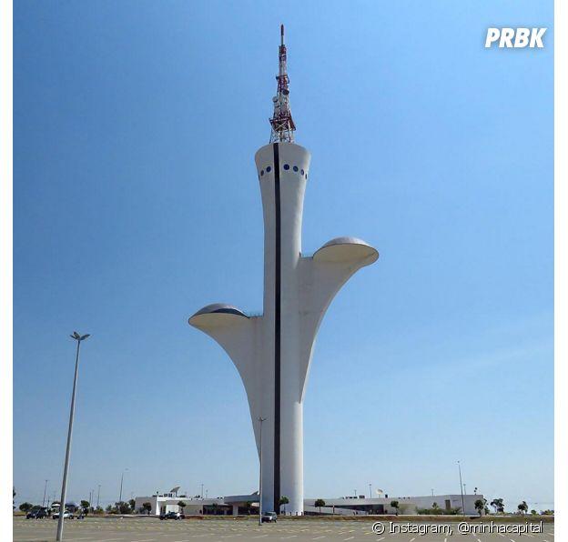 Viver em Brasília: Torre de TV Digital em Brasília
