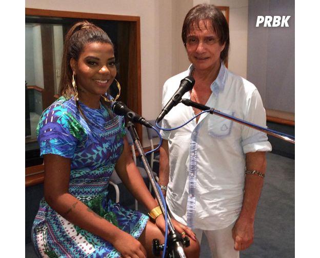Ludmilla e Roberto Carlos
