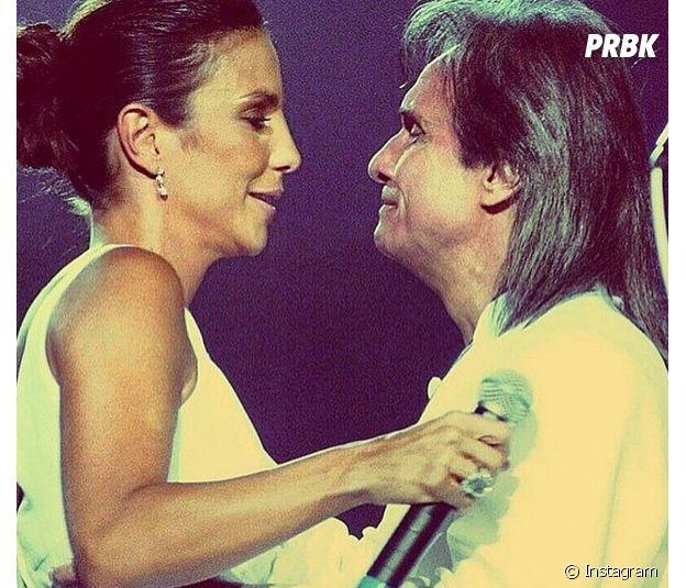 Ivete Sangalo e Roberto Carlos