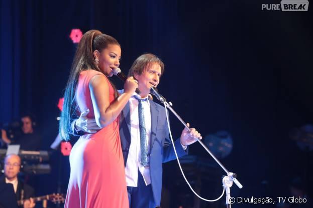 Ludmilla, Anitta, Claudia Leitte e outras musas que cantaram com Roberto Carlos