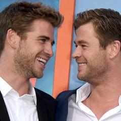 Chris e Liam Hemsworth brincam um com o outro no Instagram e arrancam risadas de seguidores
