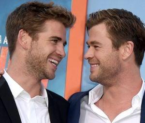 Os irmãos Chris e Liam Hemsworth arrancam risadas após se zoarem no Instagram