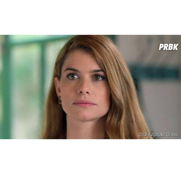 """Em """"Além do Tempo"""", Lívia (Alinne Moraes) briga com a mãe e pede demissão da Beraldini!"""