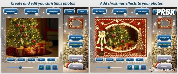 Aplicativos para deixar as suas fotos no clima de Natal:Christmas Camera