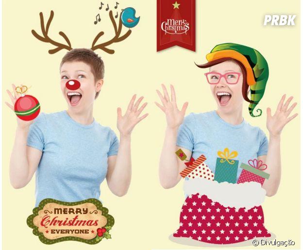 Aplicativos para deixar as suas fotos no clima de Natal:Natal Photo Stickers