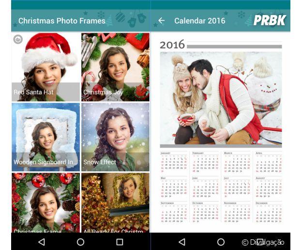 Aplicativos para deixar as suas fotos no clima de Natal:Christmas Photo Frames
