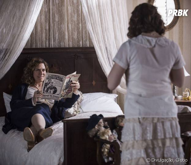 """Em """"Ligações Perigosas"""": Isabel (Patricia Pillar) fica feliz ao saber que Cecília (Alice Wegmann) pode estar grávida"""