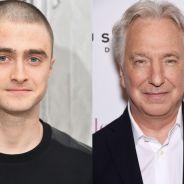 """De """"Harry Potter"""": Daniel Radcliffe presta homenagem a Alan Rickman, após morte do ator"""