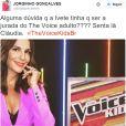 """Há quem torça para Ivete Sangalo pegar o lugar de Claudia Leite no """"The Voice Brasil"""""""