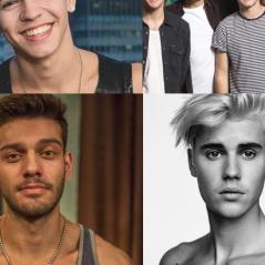Com Justin Bieber, Biel, Lucas Lucco e One Direction: descubra a altura dos seus artistas favoritos!