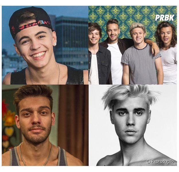 Justin Bieber, One Direction, Lucas Lucco e Biel: descubra a altura dos famosos