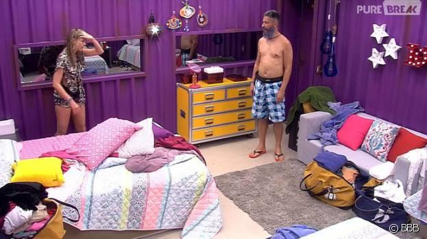 """No """"BBB16"""", Ana Paula perde a cabeça com Laércio e grita muito com o brother"""