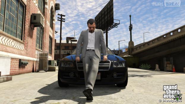 Capturas do jogo GTA V