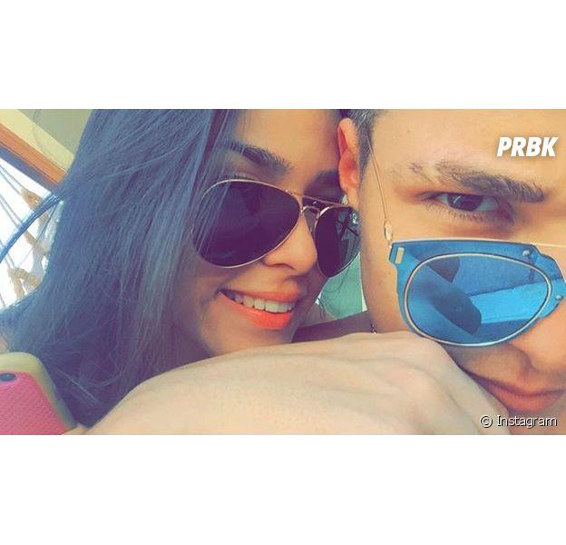 MC Gui e Luiza Cioni surgem apaixonados em selfie