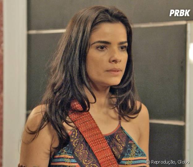 """Novela """"A Regra do Jogo"""": Tóia (Vanessa Giácomo) descobre que está grávida do Romero (Alexandre Nero)!"""