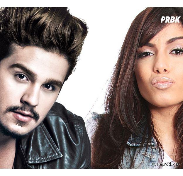 """Luan Santana e Anitta cantam o hit """"Te Esperando"""" juntinhos e fãs piram!"""
