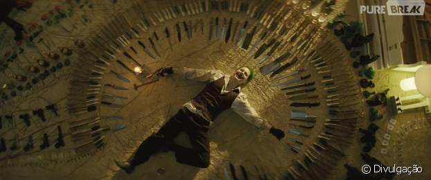 """Coringa (Jared Leto) morre de rir em novo vídeo de """"Esquadrão Suicida"""""""