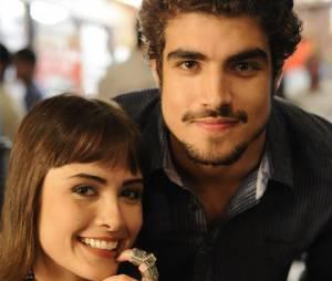"""Em """"Amor à Vida"""", Patrícia (Maria Casadevall) terá filho de Michel (Caio Castro)"""