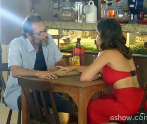 """Em """"Amor à Vida"""",Aline (Vanessa Giácomo) receberá dinheiro de um homem na prisão e tentará fugir!"""