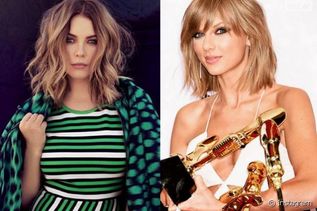 Ashley Benson revela que tem Taylor Swift em seus contatos do celular