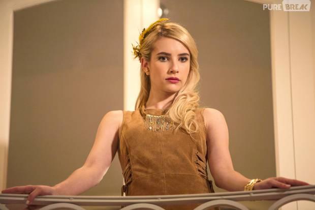 "Emma Roberts está confirmada na segunda temporada de ""Scream Queens"""