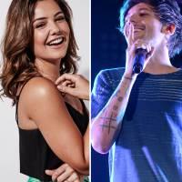 Louis, do One Direction, namorando? Gato surge com Danielle Campbell em festa pré-Grammy e fãs piram