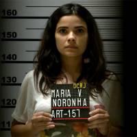 """Final """"A Regra do Jogo"""": Tóia é algemada diante das câmeras e prisão vira escândalo nacional!"""