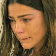 """Novela """"Malhação"""": Alina (Pâmela Tomé) chora ao sentir saudades de Uodson (Lucas Lucco)"""