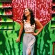 Lívian Aragão possui um sorriso lindo