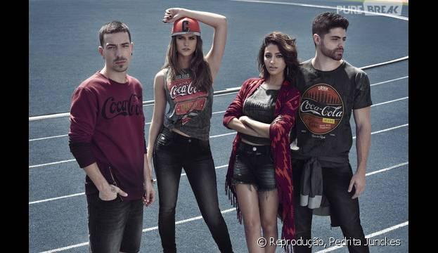 Di Ferrero, do NX Zero, estrela campanha ao lado de Juliana Paiva, Carolina Oliveira e DJ Dux
