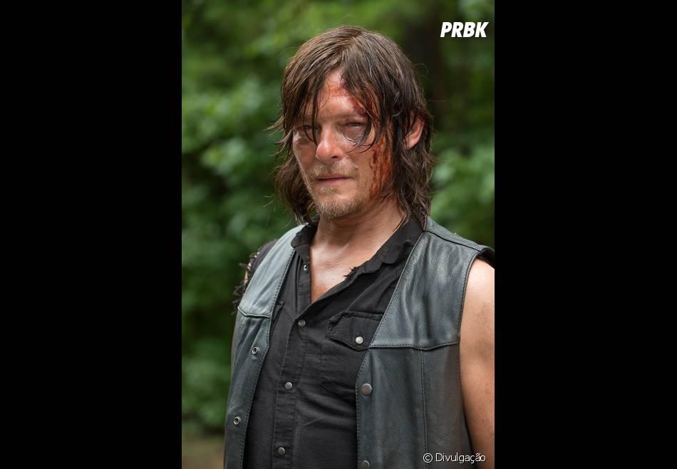 """Em """"The Walking Dead"""", Daryl (Normal Reedus) e Rick (Andrew Lincoln) ainda encontrarão vários perigos ao saírem de Alexandria"""