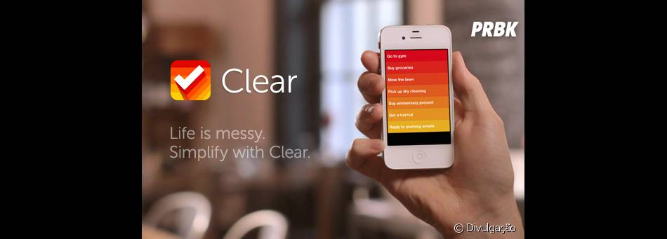 Clear faz listas coloridas por ordem de importância