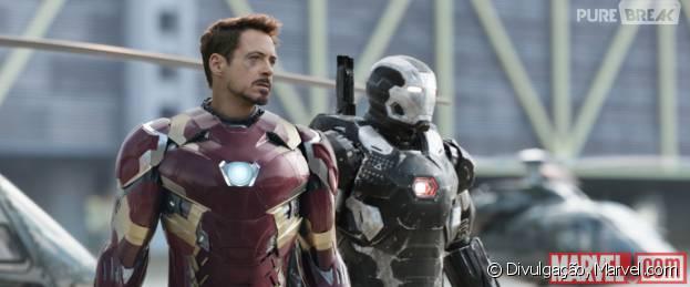 """A Marvel divulgou novas imagens de """"Capitão América 3: Guerra Civil"""""""
