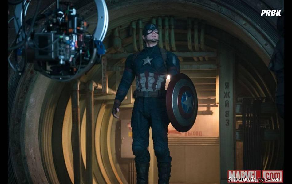 """""""Capitão América 3: Guerra Civil"""" tem lançamento agendado para 28 de abril"""