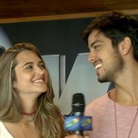 """Rodrigo Simas e Juliana Paiva homenageam Netinho no """"Domingão do Faustão"""""""