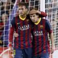 No clube espanhol Barcelona, Neymar joga com nada menos que Messi, o principal rival do Brasil na Copa do Mundo