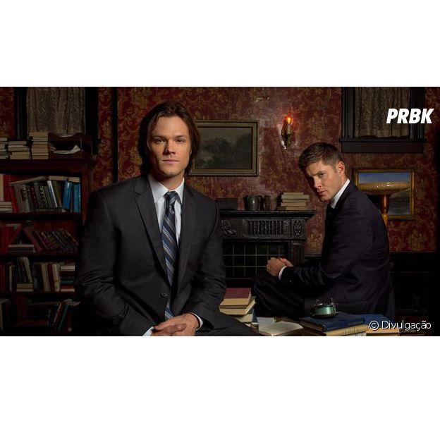 """Em """"Supernatural"""", Sam (Jared Padalecki) e Dean (Jensen Ackles) enfrentam lobisomens!"""