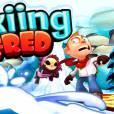 Faça manobras radicais no gelo com Skiing Fred