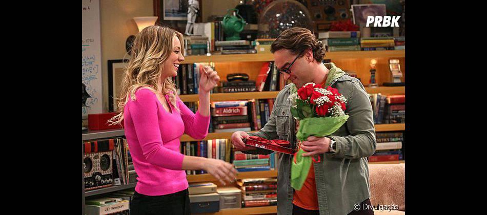 """Leonard (Johnny Galecki) e Penny (Kaley Cuoco) viveram um momento especial em """"The Big Bang Theory"""""""