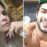 """No """"BBB 16"""": Ana Paula e Renan, ex-confinados, fazem campanha para o paredão de Geralda e Matheus"""
