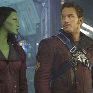"""De """"Guardiões da Galáxia 2"""": Chris Pratt e Zoe Saldana aparecem em novo vídeo de bastidores. Veja!"""