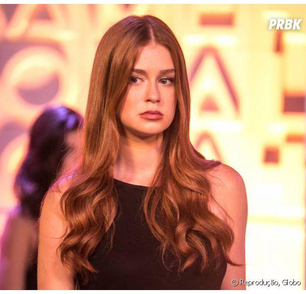 """Em """"Totalmente Demais"""", Eliza (Marina Ruy Barbosa) descobre verdade sobre aposta entre Carol (Juliana Paes) e Arthur (Fábio Assunção)!"""