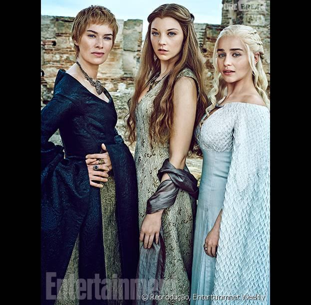 """De """"Game of Thrones"""": na 6ª temporada, elenco feminino faz ensaio fotográfico para revista"""