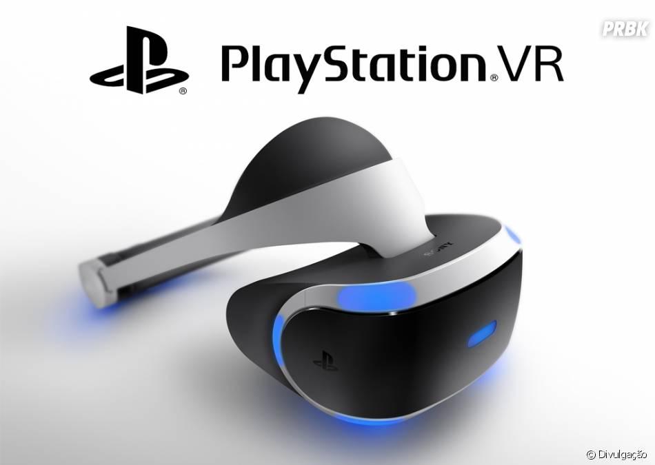 PlayStation VR, da Sony, deve chegar no Brasil pela primavera, lá pelo mês de outubro