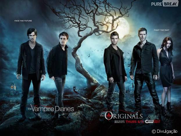 """Em """"The Originals"""" e """"The Vampire Diaries"""": imagens do crossover são divulgadas!"""